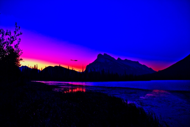 Banff_-_Rundle_Mountain_-_Summer_Sunrise