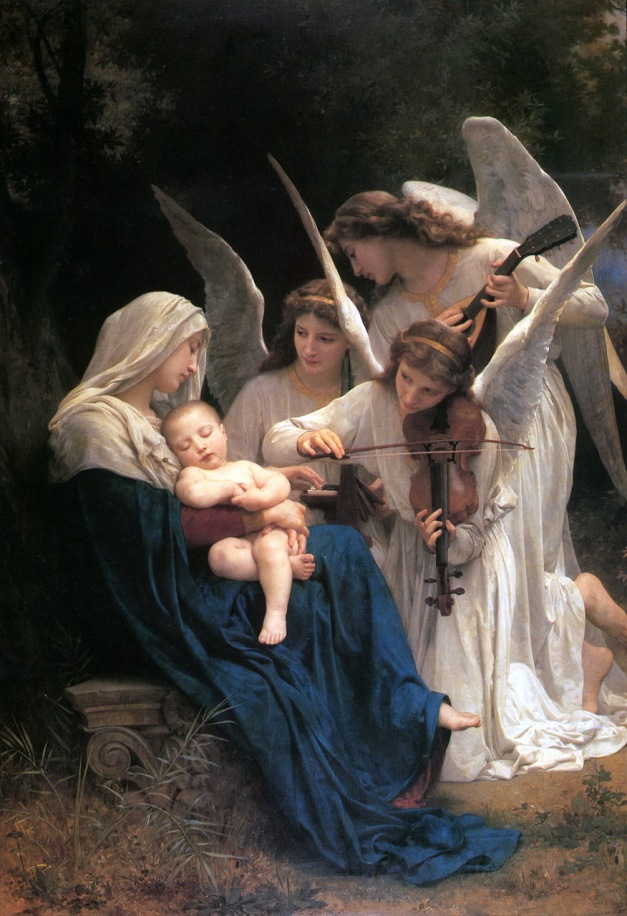 William-Adolphe_Bouguereau_(1825-1905)_-_Song_of_the_Angels_(1881)