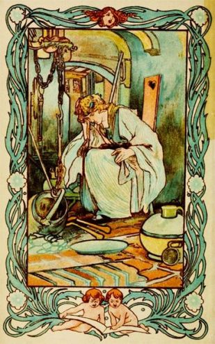 Cindarella_illustration_by_Charles_Robinson_1900
