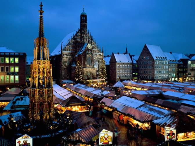 Christkindl-Market-Nuremberg-Bavaria-Germany