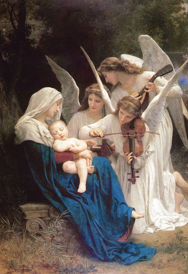 william-adolphe_bouguereau_1825-1905_-_song_of_the_angels_1881