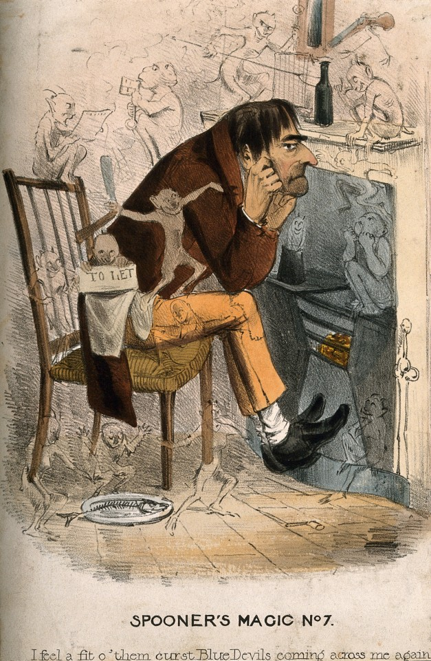 A_wretched_man_with_an_approaching_depression;_represented_b_Wellcome_V0011145.jpg